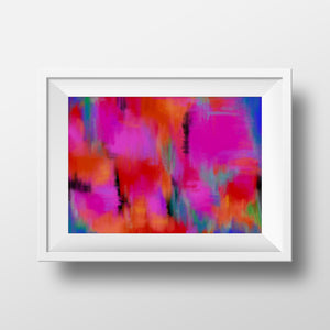 """Rainbow Joy"" art print"