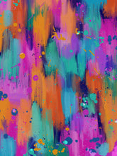 "Load image into Gallery viewer, ""Vibrant splash"" art print"