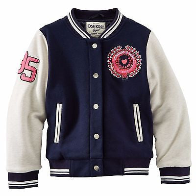 OshKosh B'Gosh FRENCH TERRY LETTER JACKET