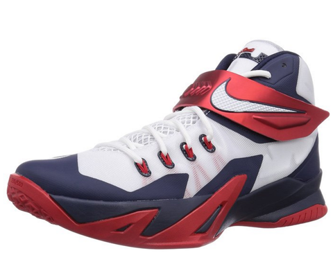 NIKE Zoom Lebron Soldier VIII Men's Basketball Shoe