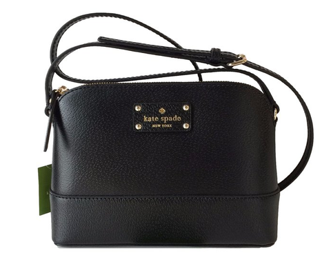Kate Spade Wellesley Hanna Leather Handbag Shoulder Bag Crossbody Purse