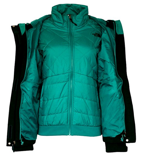 THE NORTH FACE women's MONARCH TRICLIMATE JACKET