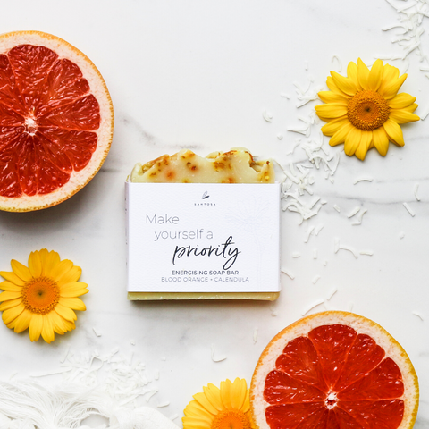 Blood Orange + Calendula Soap Bar