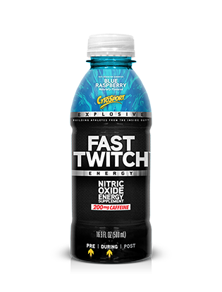 Cytosport Fast Twitch RTD - 12 pack / 17 oz.