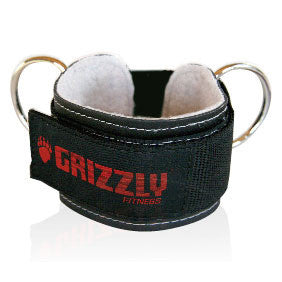 "Grizzly 3"" Leather Ankle Strap"