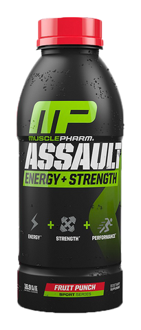 Muscle Pharm Assault RTD 12-16.9 oz, Pre-Workout - Recomp Fitness and Nutrition