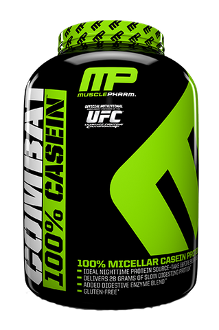 Muscle Pharm Combat 100% Casein Protein Powder - Recomp Fitness and Nutrition