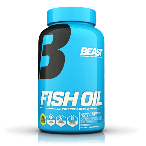 Beast Fish Oil 90 Softgels