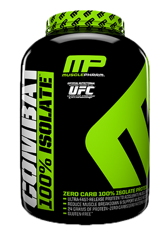 Muscle Pharm Combat 100% Whey Isolate Protein Powder - Recomp Fitness and Nutrition