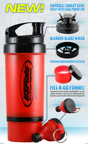 USPlabs 3-In-1 Shaker