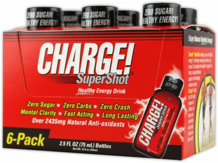 Labrada Charge SuperShot - 6 pk / 2 oz.