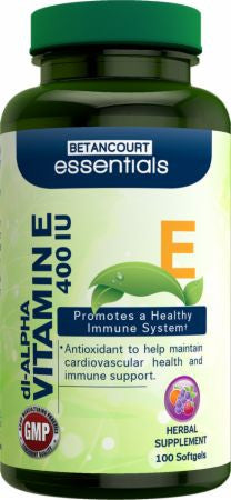 Betancourt Nutrition Essentials Vitamin E