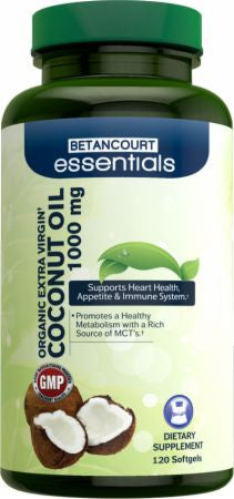 Betancourt Nutrition Essentials Coconut Oil
