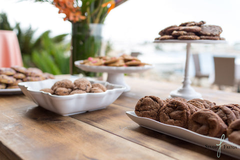 Display of cravory cookies from event
