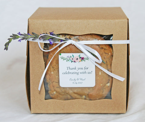 Cookie Wedding Favor