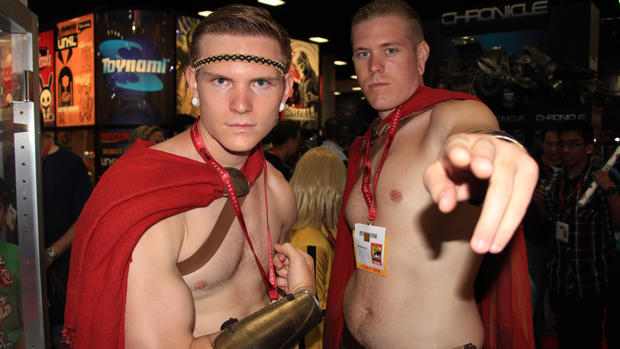 Comic Con themed cosplay