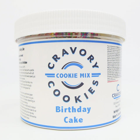 Bake Your Own Variety Pack - Birthday Cake Mix Jar