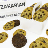 Zakarian Classic cookies displayed in box