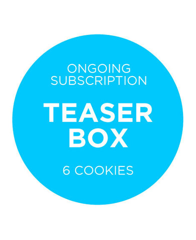 Teaser Box 6 Cookies - Ongoing
