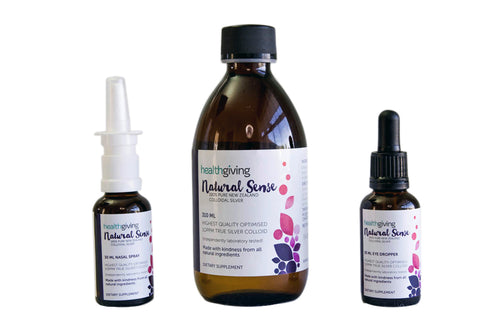 Natural Sense 310ml with 30ml Dropper and 30ml Spray
