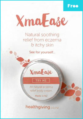Healthigiving free sample of xmaease ecsema realief cream