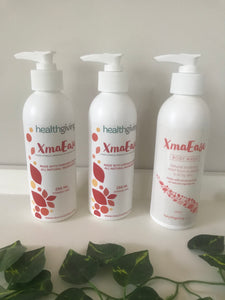 XmaEase Eczema & Itchy Skin Relief 250ml Value Pack + FREE Body Wash