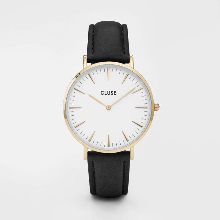 Cluse La Boheme Watch Gold White/Black Front
