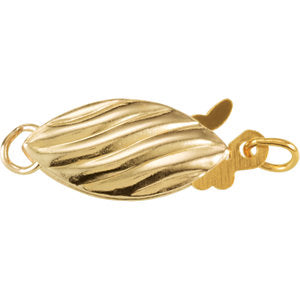 Gold Filled Marquis Safety Clasp
