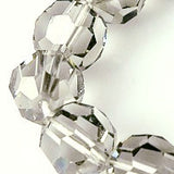 Black Diamond Model 199 strands Crystal Beads