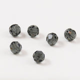 Swarovski 7mm Morion Crystal Beads 5000