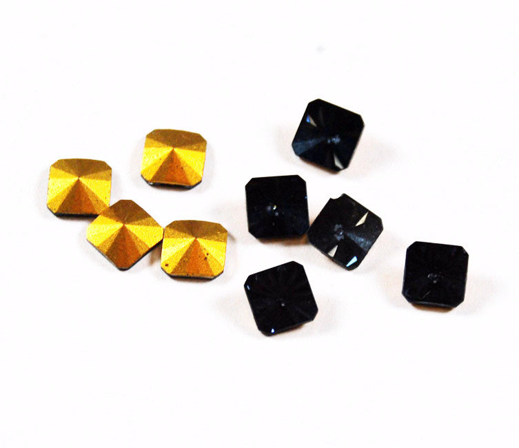 Swarovski 2650 /V Gold Seal Crystal Stones 8mm