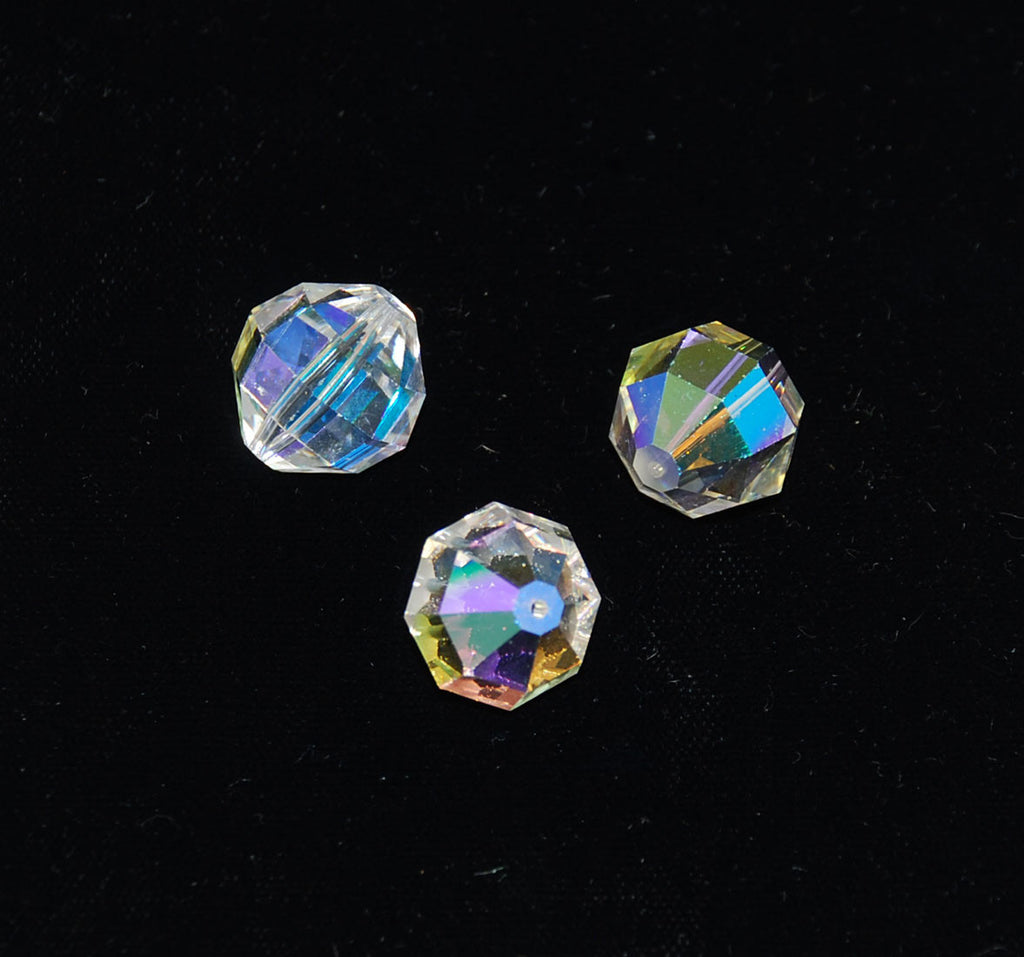 Extra Large Swarovski Crystal AB 346 Beads Discontinued