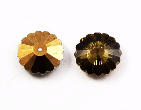 Swarovski 3701 - Crystal Comet Or 16mm Gold Coating Margaritas