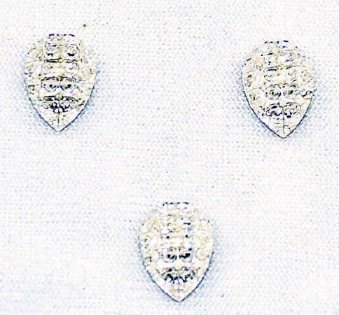 Swarovski Article 4328/1 Crystal Gold Foiled 10mm
