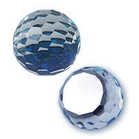 Swarovski 4861 Fireball Crystals in Bermuda Blue