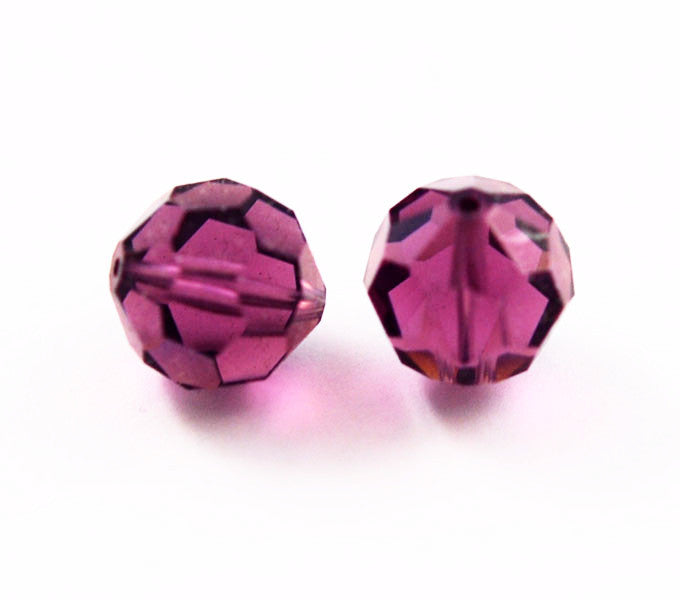 Swarovski Amethyst Large 14mm Crystal Beads 5000