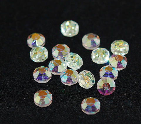 Swarovski 5100 Crystal AB 8mm Crystals