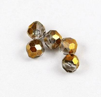 Swarovski 5300 Crystal Comet Or 5mm Austrian Beads