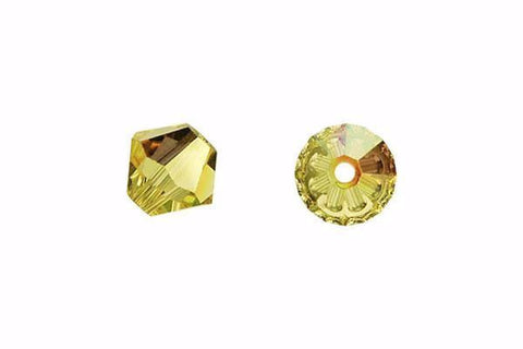 Swarovski 5301 Jonquil 5mm Crystal Beads