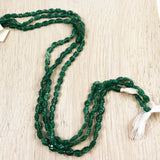 Emerald Green flower beads