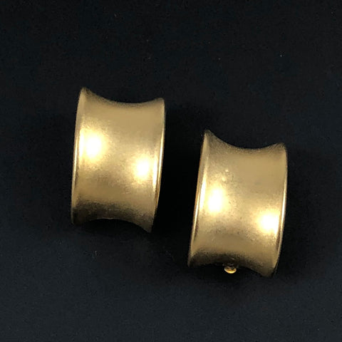 Erwin Pearl Designer Gold Clip On Earrings