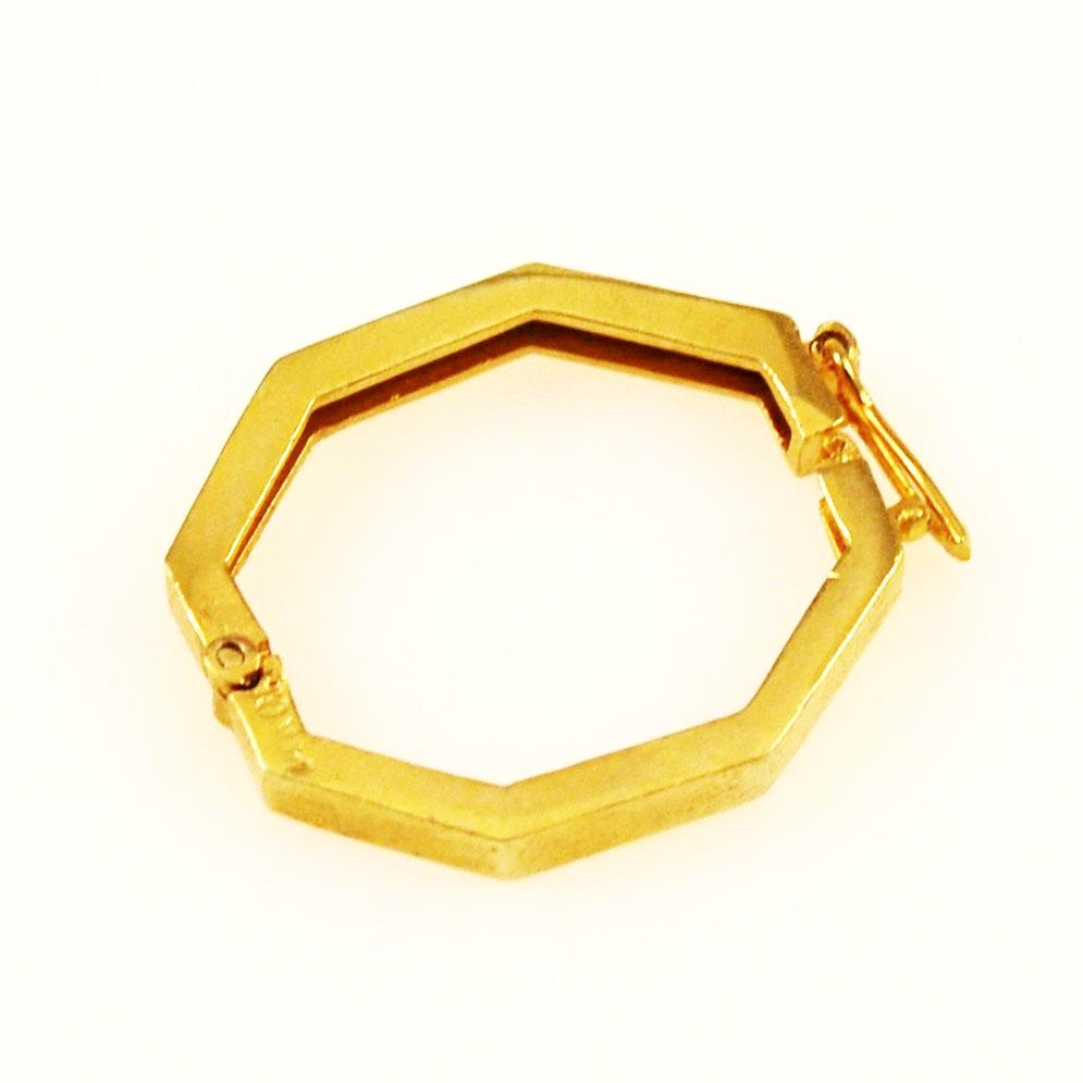 Gold Filled Twister Clasp