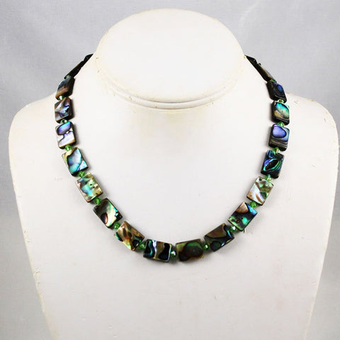 Paua Abalone Necklace