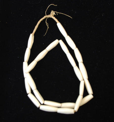 African Bone Trade Beads Necklace