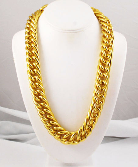Ann Klein Extra Long Gold Plated Chain
