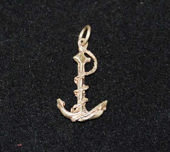 Sterling Silver Vintage Anchor Charm