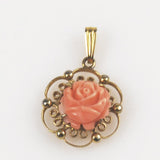 Coral Gold Pendant by Sorrento