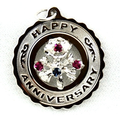 Vintage Happy Anniversary Charm by Crea