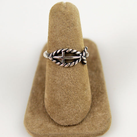 James Avery Sterling Ichthus Ring Retired