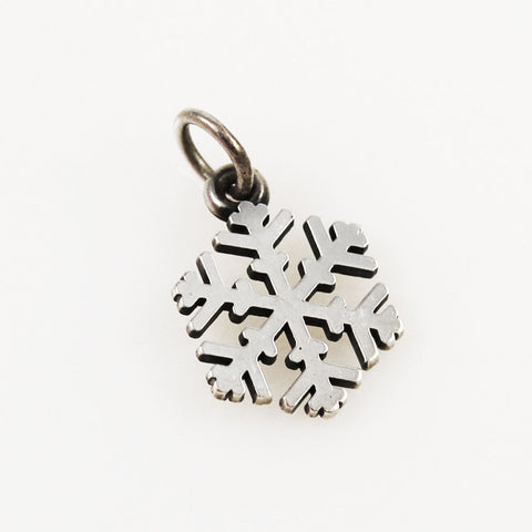 James Avery Sterling Snow Crystal Charm